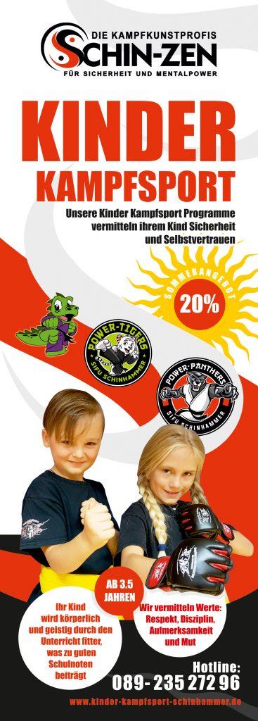Kinder Kampfsport München Sommer